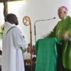 Installation du curé Thierry Saint-Clair en la paroisse St Michel du Raizet