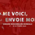 Semaine missionnaire pour les missions 11 au 18 octobre 2020