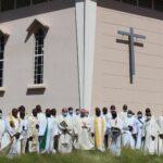 La retraite spirituelle des prêtres est arrivée Vendredi dernier à son terme