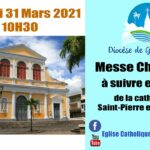Replay Messe Chrismale 1avril 2021