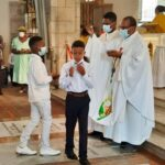 1ère Communion pour les jeunes des paroisses de Basse-Terre