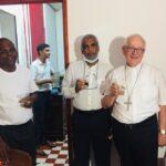 Mgr Riocreux célèbre à Saint Claude