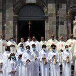 Messe solennelle d'action de grâce à la cathédrale de Basse-Terre pour Père Gérard Foucan