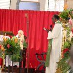 Le mot d'au revoir du Père Silène, Vicaire Général, à Mgr Riocreux