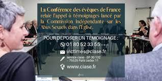 Commission Indépendante sur les Abus Sexuels dans l'Eglise (CIASE)    Diocèse de Saint-Dié