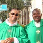 St Claude; installation du curé par Mgr Macaire